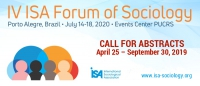 Call for Abstracts: IV ISA Forum of Sociology