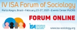 IV ISA Forum will be held online