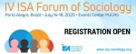 REGISTRATION: IV ISA Forum of Sociology